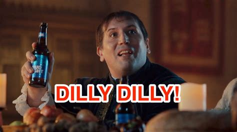 bud light commercial dilly dilly dit betekent dilly dilly en dit is de achtergrond van