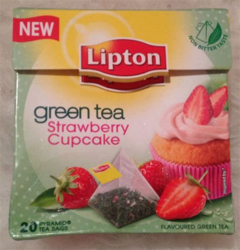 Lipton Green Tea For Detox by Lipton Green Tea Strawberry Cupcake I Think This Is