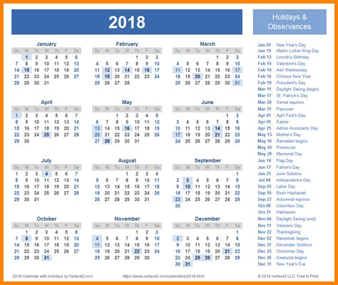 Calendar 2018 India Pdf 2018 Calendar India Merry And Happy
