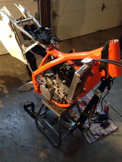 Ktm Frame Orange Frame Ktm Sx F Build Tech Help Race Shop