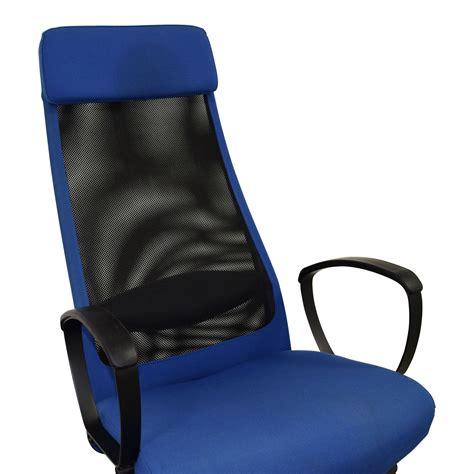 Ikea Ikea Markus Blue Swivel Chair Chairs