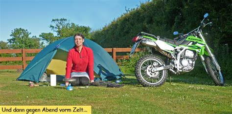 Motorradtour Zelt by Motorradtour Durch Schottland Mit Zelt Und Schlafsack