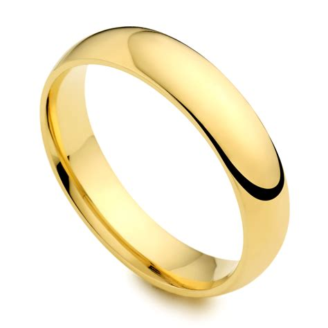 Goldringe Eheringe by S Plain Ring Idg254 I Do Wedding Rings
