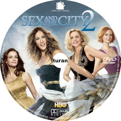 And The City The On Dvd by And The City 2 Custom Cd Custom Dvd Labels