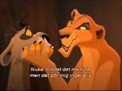 who sang my lejonkungen 2 ziras s 229 ng my lullaby svenska