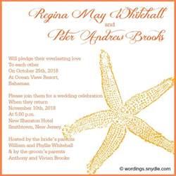 destination wedding invitation wording exles destination wedding invitation wording sles wordings