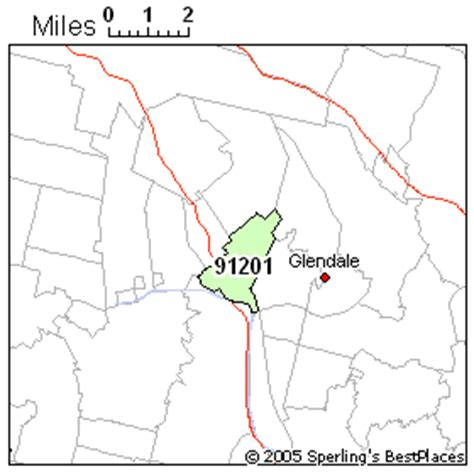 zip code map glendale ca best place to live in glendale zip 91201 california