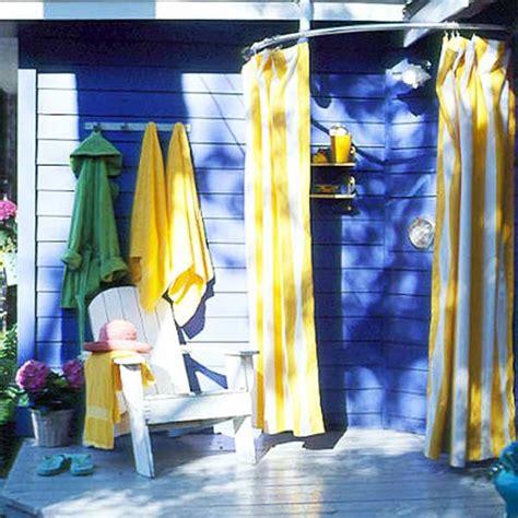 Outdoor Shower Curtains 15 Outdoor Shower Designs Modern Backyard Ideas