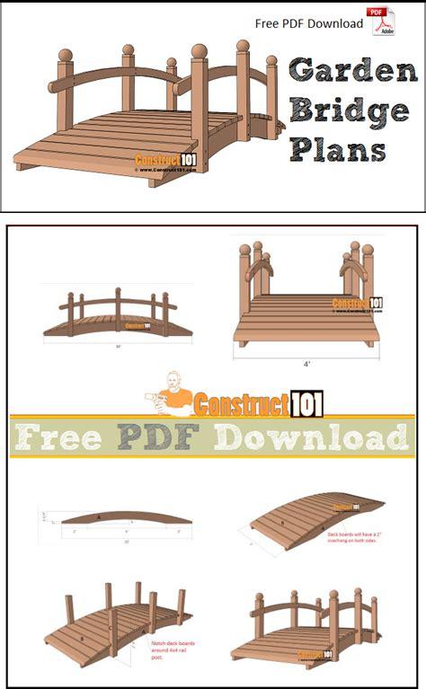 how to build a garden bridge quarto homes wood how to build a wooden garden bridge blueprints