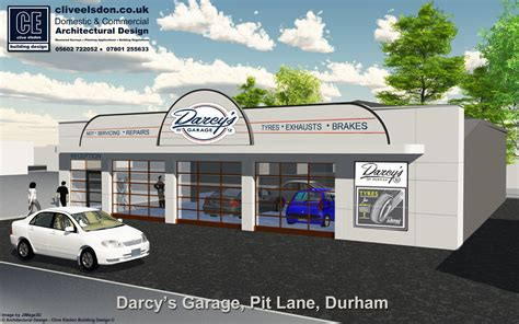 Garage Pit Design darcy s of durham face lift to former ats garage pit