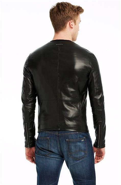 Indulge In This Autumns Must The Leather Jacket At Miss Selfridge Dorothy Perkins by Clean Leather Jacket Jackets Blazers Mens Armani