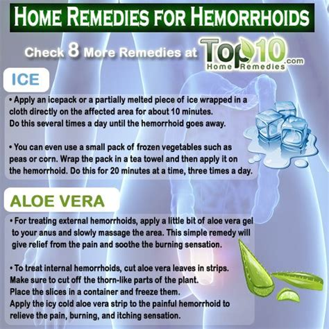home remedies for hemorrhoids piles top 10 home remedies