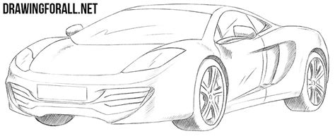 mclaren f1 drawing how to draw a mclaren mp4 12c drawingforall