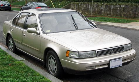 books about how cars work 1994 nissan maxima spare parts catalogs file 1992 1994 nissan maxima 03 21 2012 jpg wikimedia commons