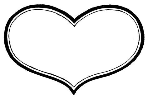 Vintage Valentine Printable  Antique Heart Labels The Graphics sketch template