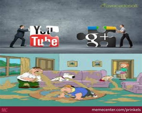 Meme Google Plus - youtube and google plus by recyclebin meme center