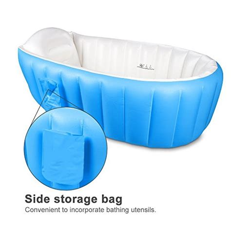 travel bathtub for toddler baby inflatable bathtub flymei portable infant toddler