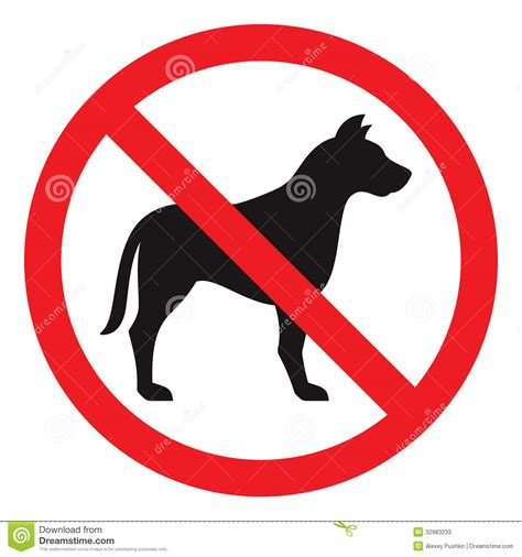 no puppies no sign stock photos image 32983233