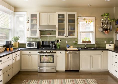 green subway tile backsplash kitchen eclectic with luxury