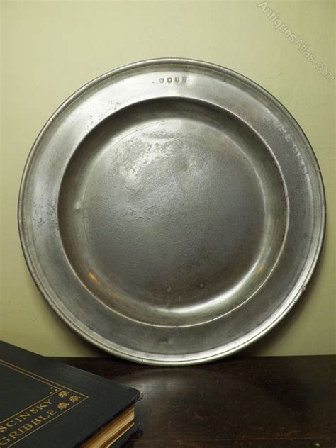 pewter charger antiques atlas 18th c pewter charger
