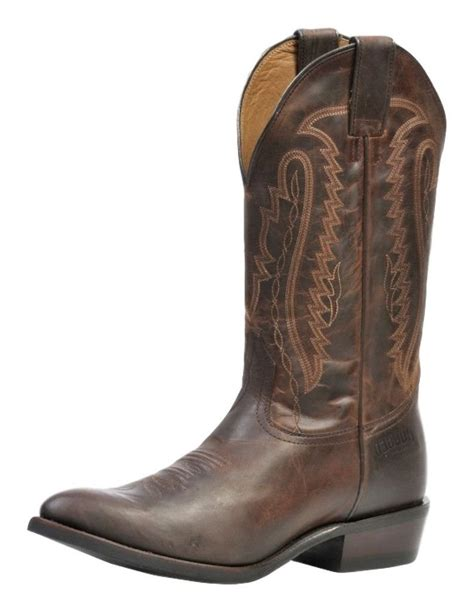 rugged country western boots mens rubber cowboy 11 1d cat