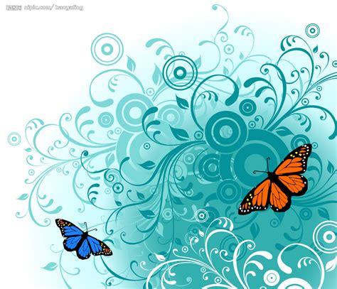 imagenes mariposas turquesas 可爱背景底图矢量图 背景底纹 底纹边框 矢量图库 昵图网nipic com