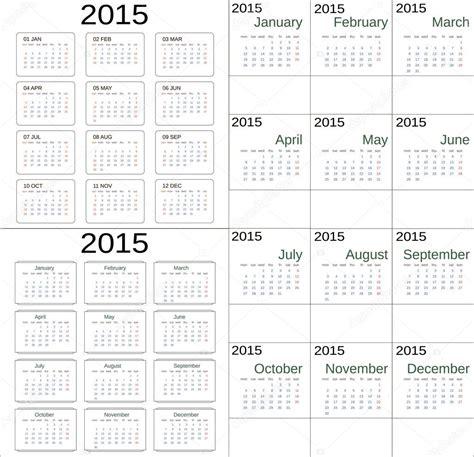simple universal pattern monday to sunday calendar 2015 hospi noiseworks co