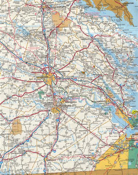 printable road map of virginia popular virginia road maps emaps world