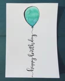 25 best happy birthday calligraphy ideas on calligraphy birthday card happy