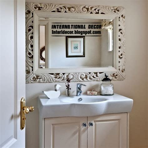 Bathroom Mirror Decorating Ideas by Bathroom Mirrors Useful Tips For Choosing