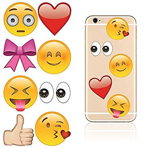 Sticker Smartphone Decal Smartphone Halloweeks 01 idecoz even more emoji reusable vinyl decal sticker skin for all cell phones cases iphone 7