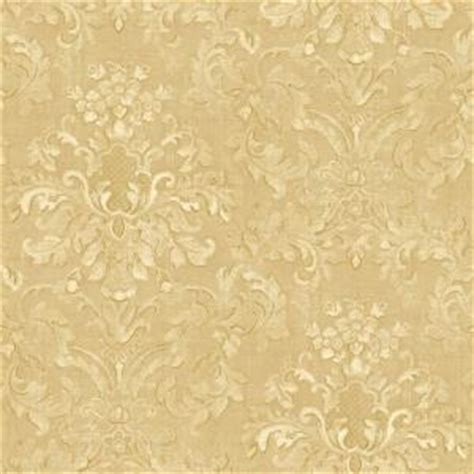 the wallpaper company 56 sq ft beige floral damask