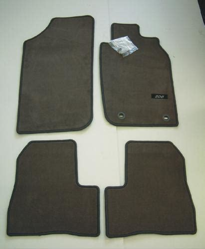 Karpet Peugeot 206 peugeot 206 luxury carpet mats grey 3 5 door hatch sw