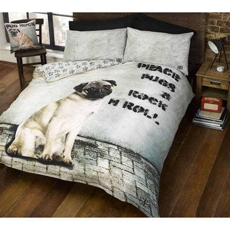 pug design quilt cover pug design duvet cover sets in single and double kids
