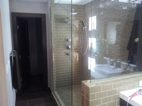 custom walk in showers custom walk in showers laundry room traditional with