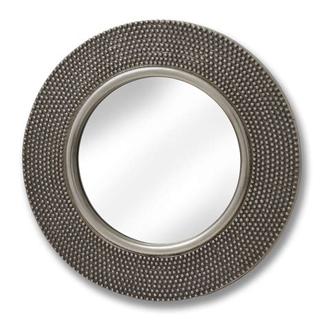 large beaded mirror large circular beaded mirror from hill interiors