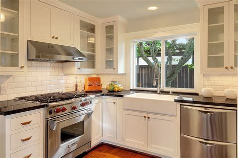 traditional kitchen backsplash traditional kitchen with stainless steel appliances l