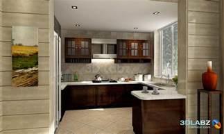 Kitchen Interior Design Kitchen Interior 3d Perspective View