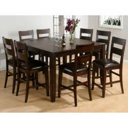 jofran rustic prairie 9 piece counter height dining set homelegance 2524 36 broome counter height dining table set