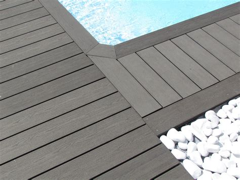 elegance smooth decking board anthracite grey