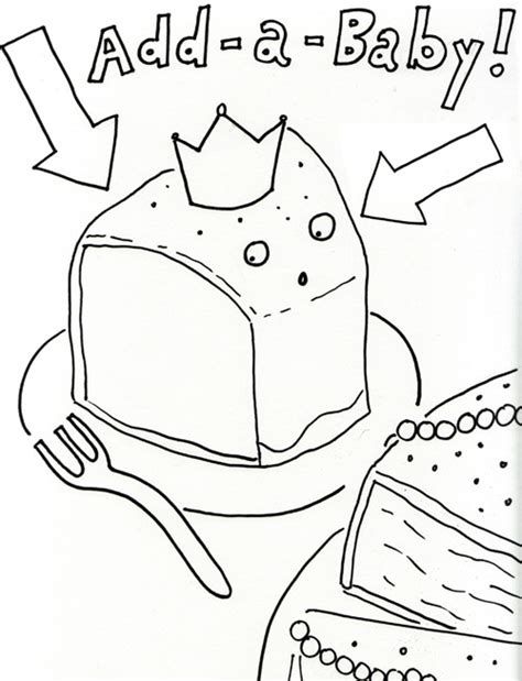 king cake coloring pages k is for king cake a coloring book page activity for cake