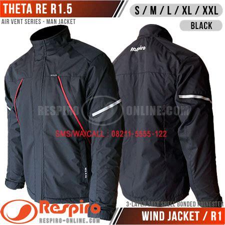 Jaket Respiro Dr Vent R1 3 Black Choarcoal jual jaket respiro air vent series distrojaketmotor