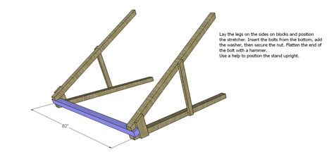 a frame swing plans free free diy furniture plans how to build a swing a frame