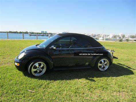 volkswagen convertible black 2005 volkswagen beetle gls convertible black on black