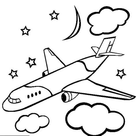 gambar mewarnai pesawat terbang hitam putih aneka gambar gambar foto anak sma