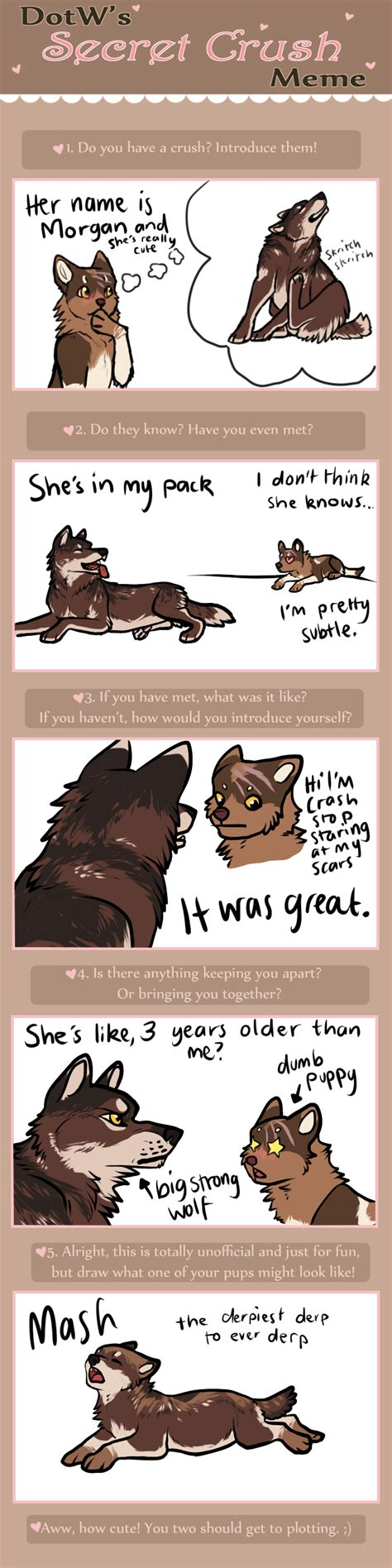Secret Crush Meme - dotw secret crush meme by kiterrax on deviantart