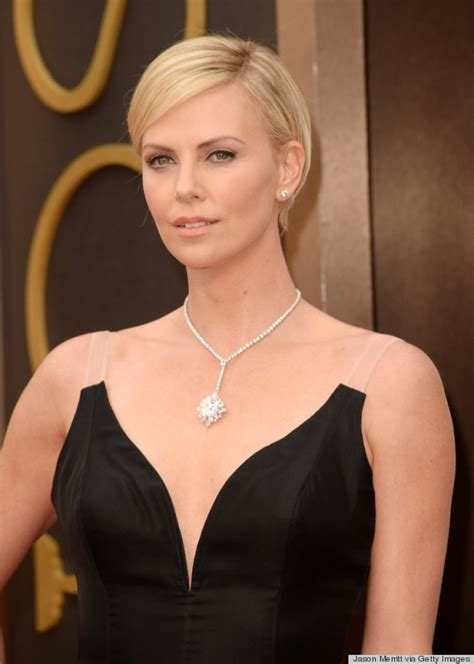 Bsf 02 Dress Palyboy charlize theron s oscar 2014 dress couldn t get anymore photos huffpost