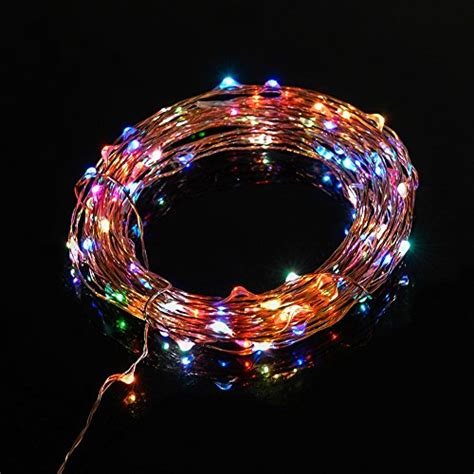 starry string lights on copper wire taotronics 174 led string lights starry string light copper