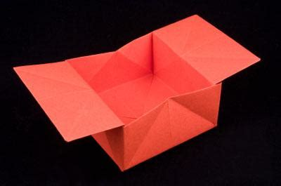 Origami Collapsible Box - origami box lovetoknow