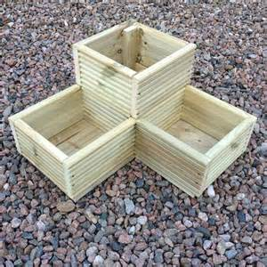 25 best ideas about wooden garden planters on